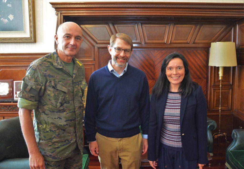 Finalizada la estancia durante el primer cuatrimestre del curso 2019-2020 de un profesor visitante Fulbright en el CUD-ENM