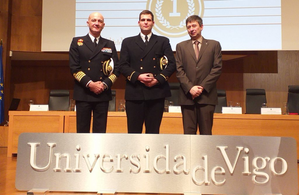 Acto de entrega de premios extraordinarios de grado en la Universidad de Vigo