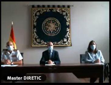 Inauguración telemática Máster Universitario en Dirección TIC para la Defensa (Máster DIRETIC)