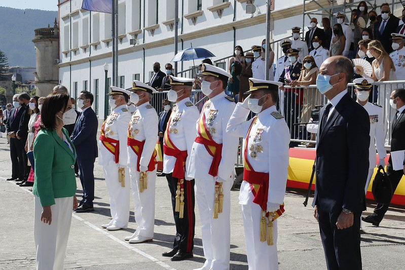 Acto de Jura de Bandera y Entrega de Reales Despachos
