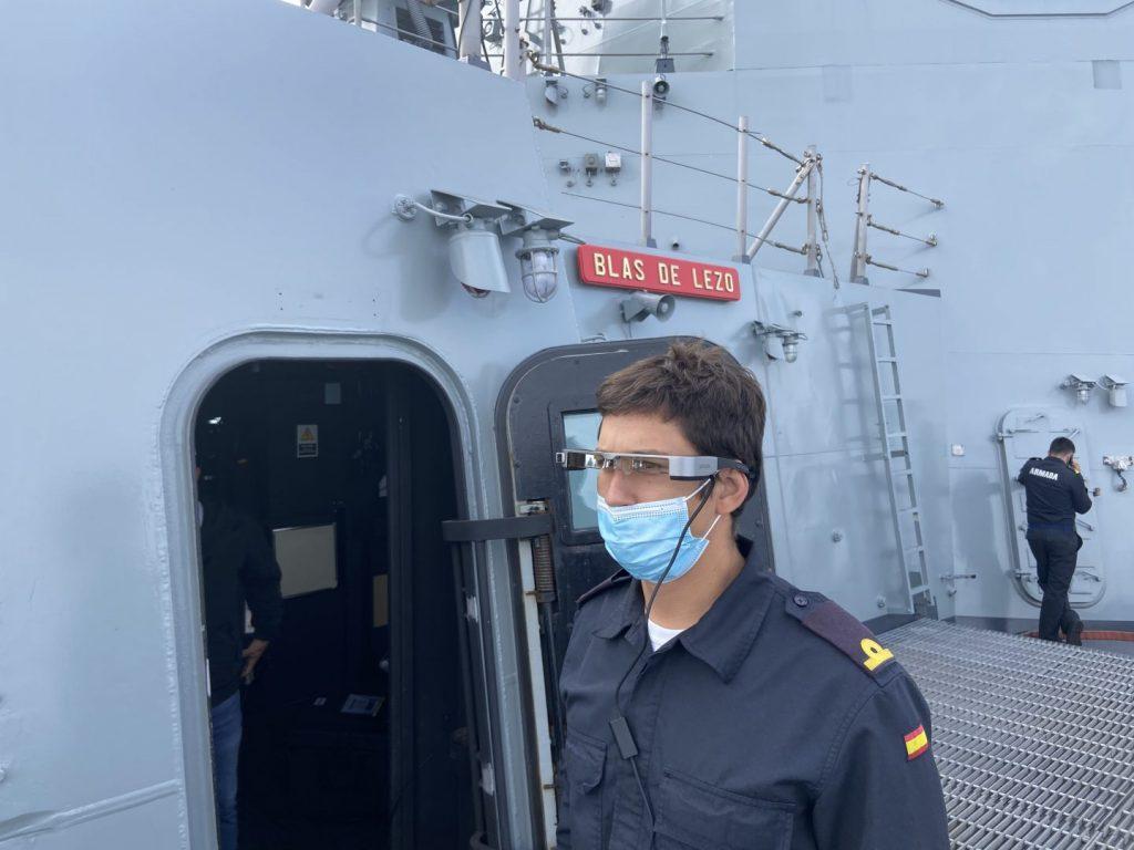 Realizadas con éxito las pruebas de mar del sistema SAAM